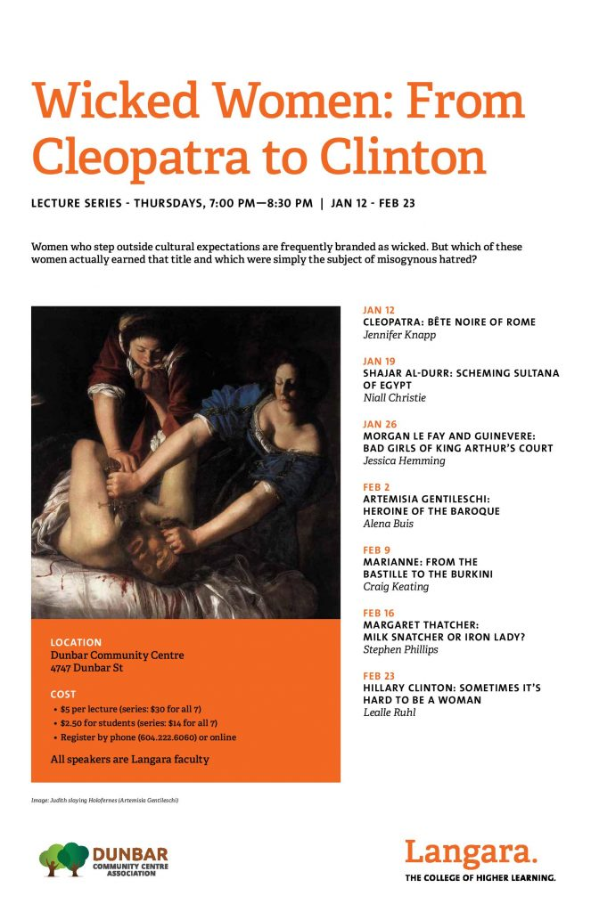 Wicked Women: From Cleopatra to Clinton